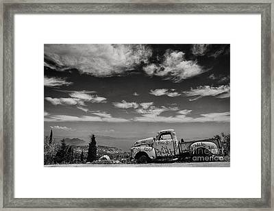 Odyssey Framed Print by Rod McLean