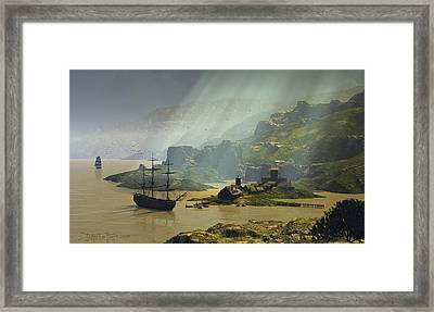 Of A Time Framed Print by Dieter Carlton