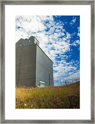 Of Clouds And Grain Framed Print by Kunal Mehra