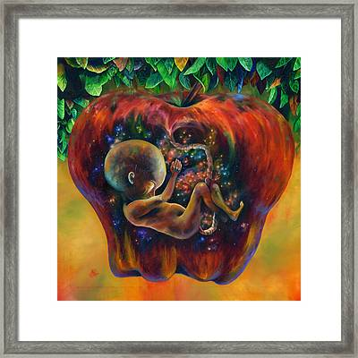 Of Knowledge Framed Print by Kd Neeley