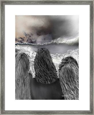 Of The Sea Framed Print by Ruth Clotworthy