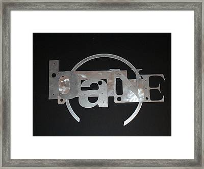 Of Your Existence Framed Print by April Davis