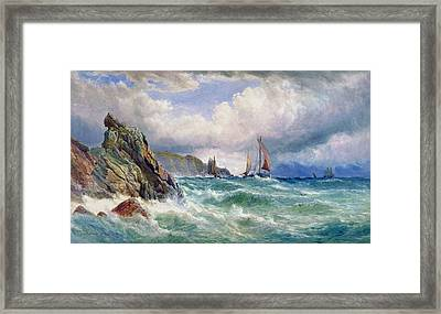 Off Cape Clear    County Cork Framed Print by John Faulkner