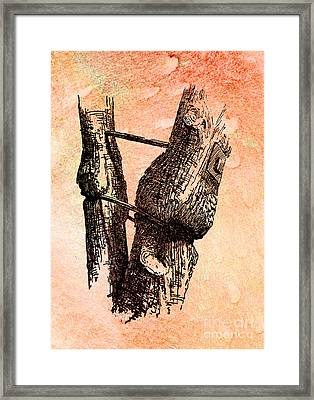 Off-centered Life Framed Print by R Kyllo