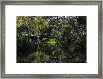 Off The Beaten Path Framed Print by Judy Hall-Folde
