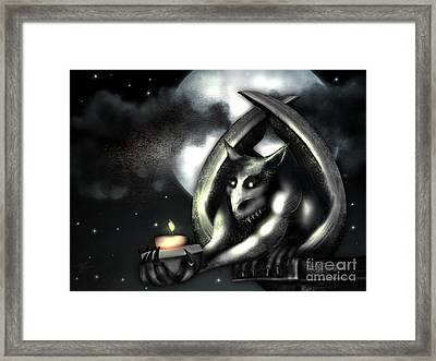 Offering Framed Print by J Kinion