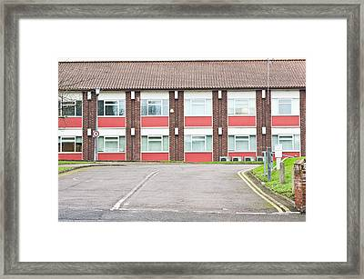 Office Building Framed Print by Tom Gowanlock