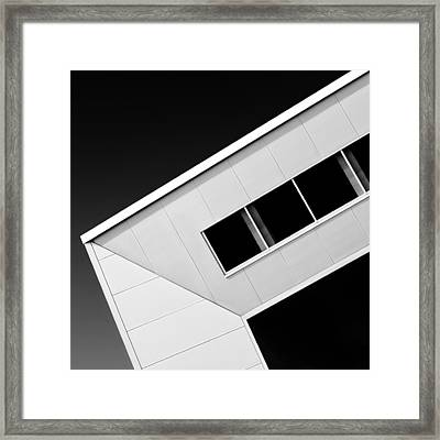 Office Corner Framed Print by Dave Bowman
