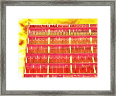 Office Space Framed Print by Wendy J St Christopher