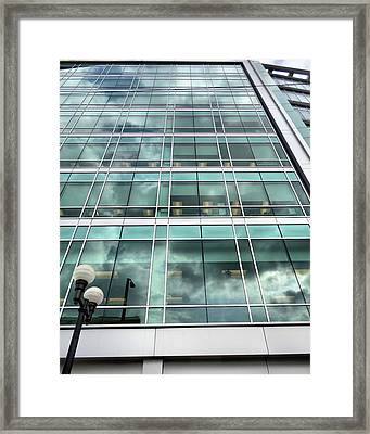Office View Framed Print by Dan Sproul