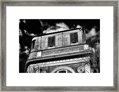 Officina Framed Print by John Rizzuto