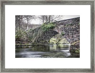 Ogwen Bank Bridge Framed Print by Christine Smart