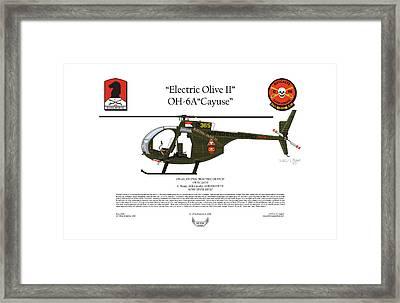Oh-6a Electric Olive II Loach Framed Print by Arthur Eggers