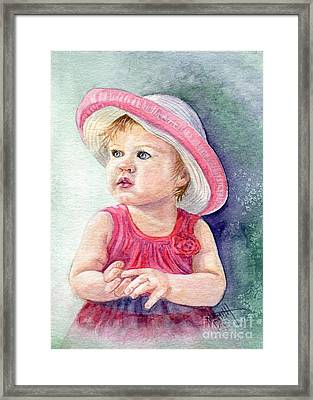 Oh Baby Framed Print by Marilyn Smith