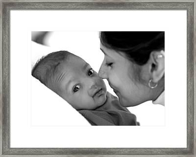 Oh Mom Framed Print by Lisa Phillips