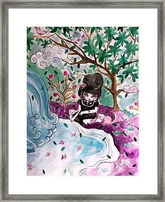 Oh Rosalie Framed Print by Cris Pires