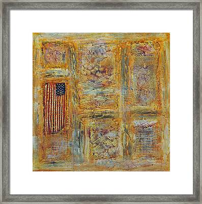 Oh Say Framed Print by Jim Benest