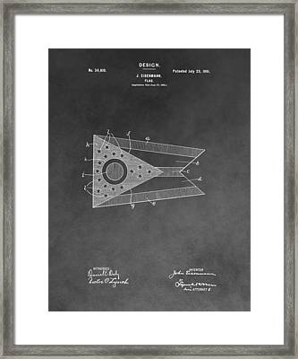 Ohio State Flag Framed Print by Dan Sproul