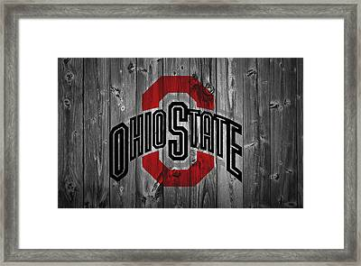 Ohio State University Framed Print by Dan Sproul