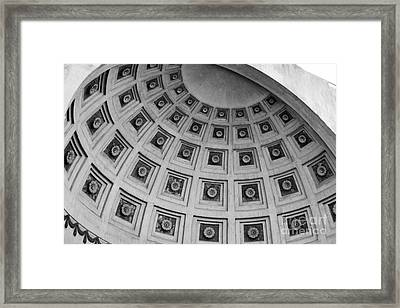 Ohio State University Ohio Stadium Framed Print by University Icons