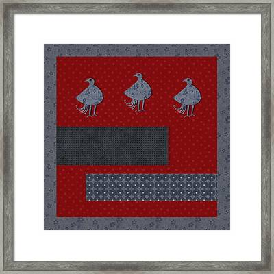 Oiselot - R11afr03a Framed Print by Variance Collections
