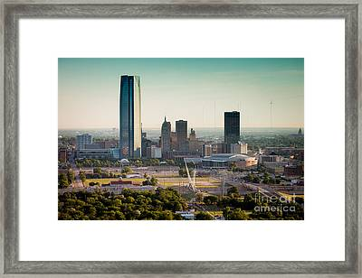 Okc_may_2014-1 Framed Print by Cooper Ross