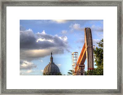 Oklahoma Crude Framed Print by Al Griffin