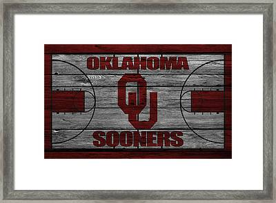 Oklahoma Sooners Framed Print by Joe Hamilton