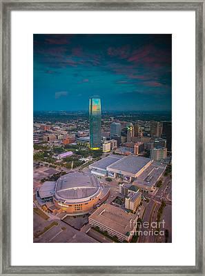 Oks007-28 Framed Print by Cooper Ross