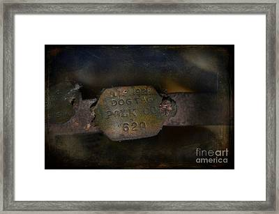 Old 620 Framed Print by The Stone Age