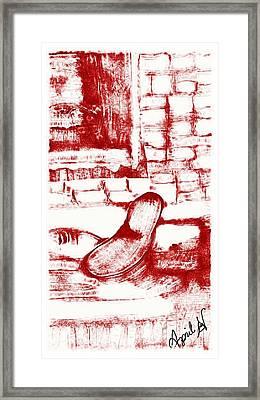 Old Age  Framed Print by April Jenkins-Black