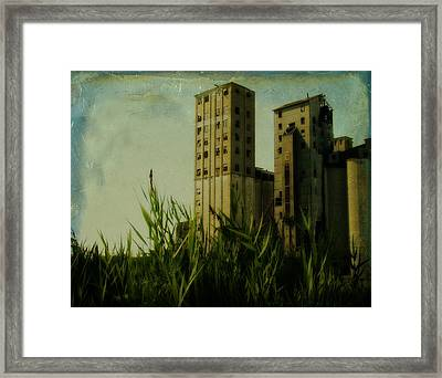 Old Age Industry Framed Print by Gothicolors Donna