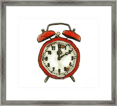 Old Alarm Clock Framed Print by Michal Boubin
