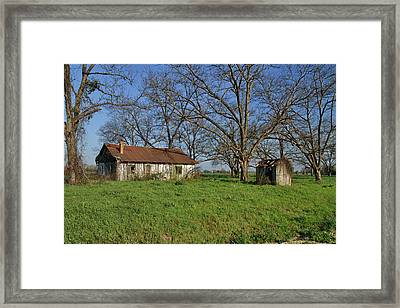 Old And Forgotten Framed Print by Kim Hojnacki