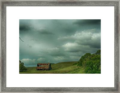 Old And Lonely Framed Print by Laurie Search