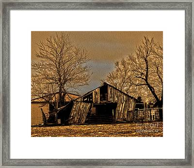 Old And New Framed Print by R McLellan