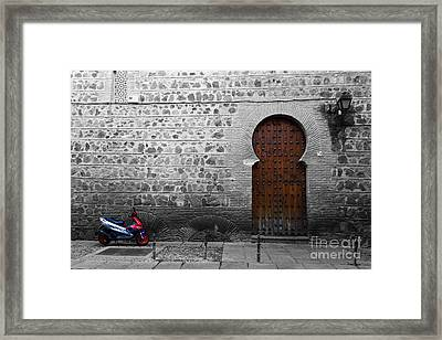 Old And New Toledo Framed Print by James Brunker
