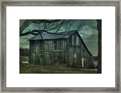 Old As The Hills Framed Print by David Simons