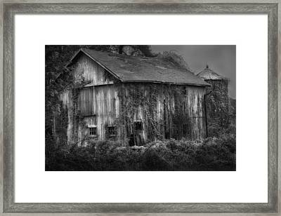 Old Barn Framed Print by Bill Wakeley