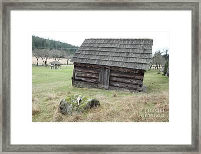 Old Barn Framed Print by Graham Foulkes