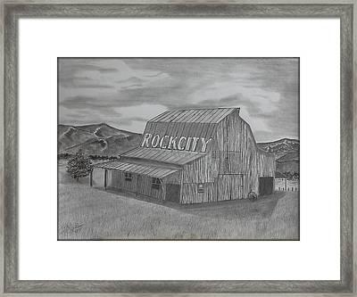 Old Barn II Framed Print by Tony Clark