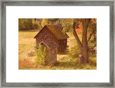 Old Blacksmiths Shop  Framed Print by Jeff Swan