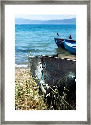 Old Boat  Framed Print by Ivan Vukelic