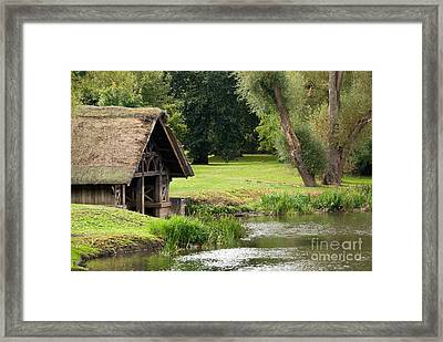 Old Boathouse Framed Print by Rick Piper Photography