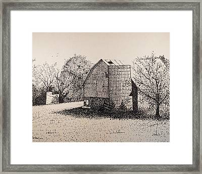 Old But Beautifull Framed Print by Saundra Smoker