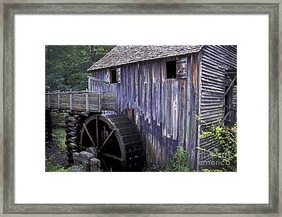 Old Cades Cove Mill Framed Print by Paul W Faust -  Impressions of Light