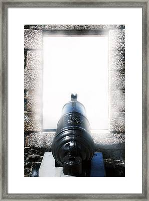 Old Cannon Framed Print by Joana Kruse