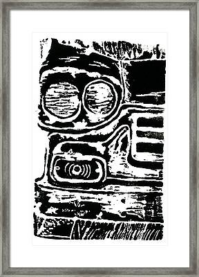 Old Car Framed Print by Jame Hayes