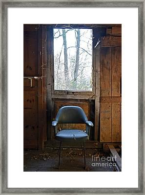 Old Chair Framed Print by Bernard Jaubert