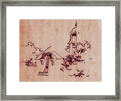 Old City Hall Framed Print by Dale Michels